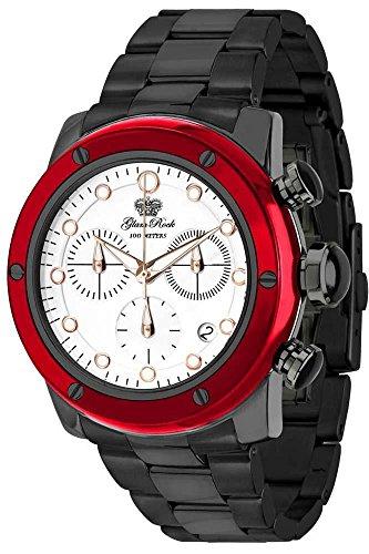 Glam Rock AR5106A - Reloj unisex, correa de cerámica