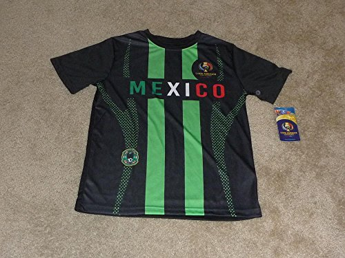 OFFICIAL 2016 JESUS CORONA MEXICO SOCCER JERSEY COPA AMERICA 2016 BOYS LARGE (Jersey Boy Tickets compare prices)