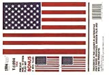 Trimbrite Sticker American Flag T1894