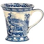 Blue Peacock Mug
