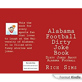 Alabama Football Dirty Joke Book (English Edition)