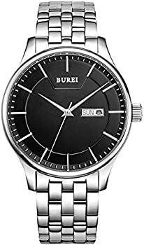 BUREI SM-13001-P51EY Mens Quartz Watch