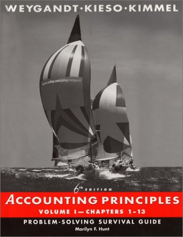 Accounting Principles, Chapters 1-13, Problem-Solving Survival Guide (Volume 1)
