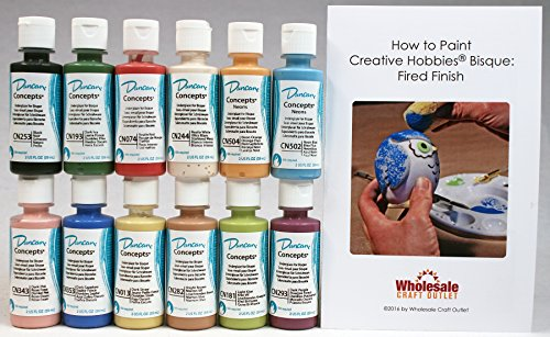 duncan-cnkit-1-concepts-underglaze-paint-set-12-best-selling-colors-in-2-ounce-bottles-with-free-how