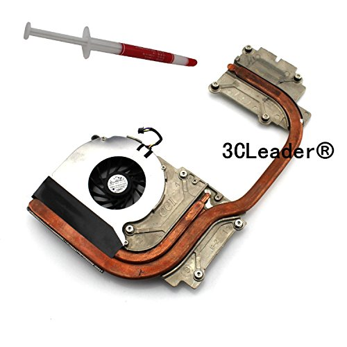 3CLeader® CPU Cooling Fan with Heatsink For HP 8540P 8540W 595766-001 595768-001