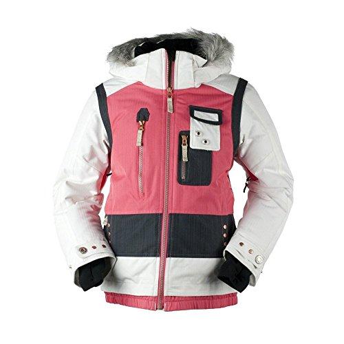 Obermeyer Kat Jacket - Girls' Coral, 14 front-269192