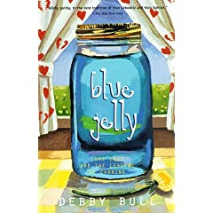 Cover of Blue Jelly by Debby Bull