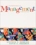 Fundamentals of management:essential concepts and applications