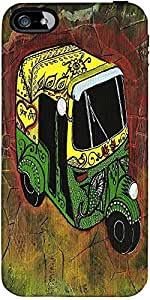 Snoogg New Delhi Auto Rickshaw 2889 Designer Protective Back Case Cover Forap...