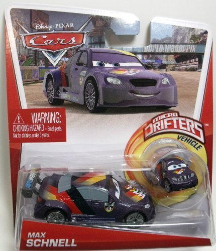 Disney Pixar Cars Max Schnell 1:24 with bonus Micro Drifters Vehicle