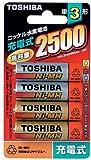 TOSHIBA ニッケル水素電池 4本パック TH-3K4P
