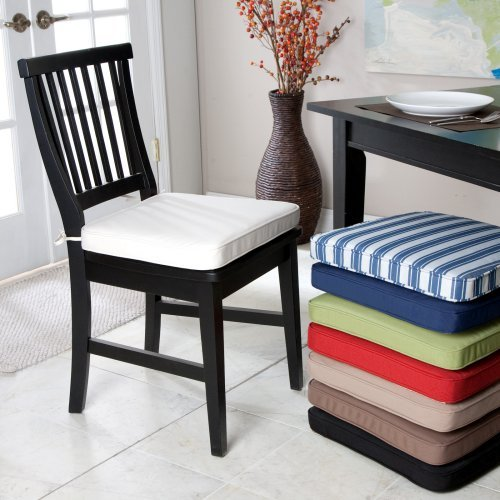 Genial Deauville 18 X 16.5 Dining Chair Cushion Color   Cream Review