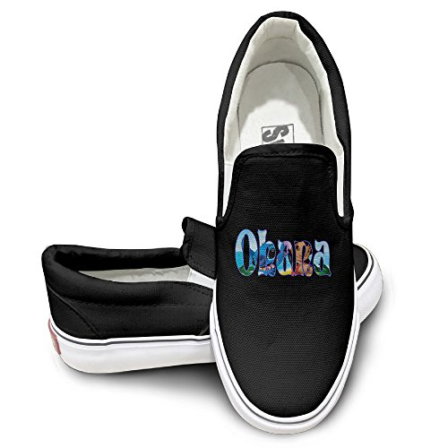 OOONG Ohana Stitch Poster Casual Slip On Casual Shoes 44 (Lilo And Stitch Full Series compare prices)