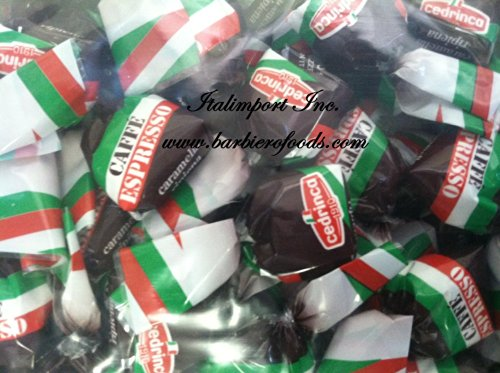 CEDRINCA Caffe`Espresso filled (candies) 2LB Made in Italy (Espresso From Italy compare prices)