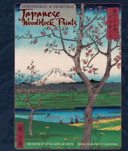 Hiroshige and Hokusai: Japanese Woodblock Prints 2009 Engagement Calendar, ,  POMEGRANATE