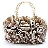TopTie Large Bouquet Rose Clutch, Wedding Handbag, Gift Idea