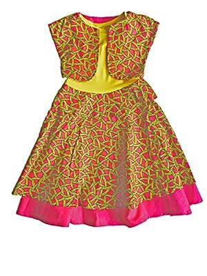 Z By Ozi Girl's Ankara Print Tank Dress
