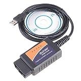 ELM327 OBD2 スキャンツール for Android & PC (USB) (GoodPriceオリジナル商品)