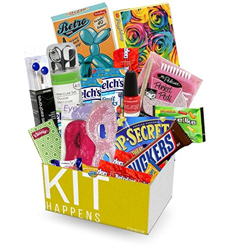 KIT HAPPENS | Survival Kit - Get your kit together (Cheer Up) - college, office, friends (Cheer Up Care Package compare prices)