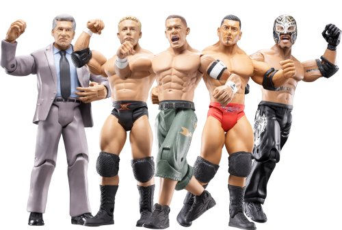 Buy Low Price Jakks Pacific WWE Ruthless Aggression Series #27 – Six Figure Pack (B000N4C2OK)