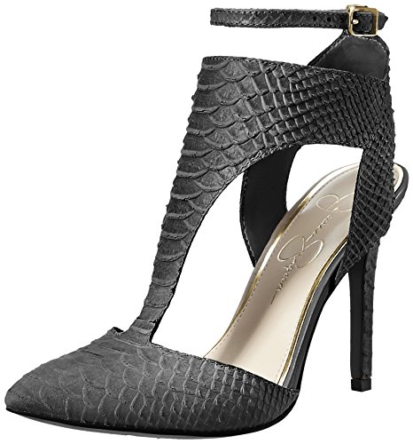 Jessica Simpson Womens Vianca Dress Pump,Black,10 M US