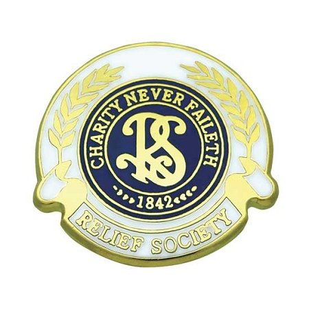 Pin Tie Tack Relief Society Lapel Pin (Relief