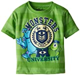 Monsters University Boys 2-7 Mike Sully Striped Toddler Tee