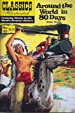 img - for Around the World in 80 Days (Classics Illustrated, 69) book / textbook / text book