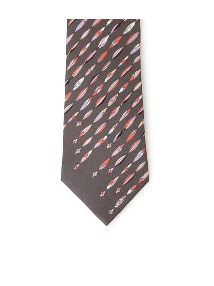 Emilio Pucci Men's Marquise Stripe Tie, Grey/Pink
