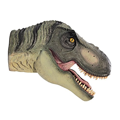 Design Toscano Scaled Tyrannosaurus Rex Dinosaur Wall Trophy Sculpture