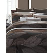 EverRouge Autumn Again 7-Piece Cotton Duvet Cover Set