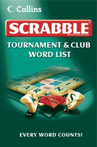 Scrabble Tournament and Club Word List PDF