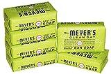 Mrs. Meyer's Clean Day Daily Bar Soap Lemon Verbena Pack of 6