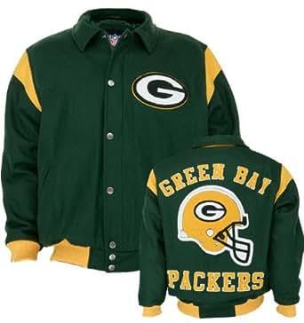 Green Bay Packers Team Color Wool Varsity