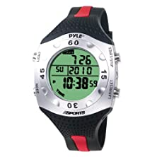 buy Pyle-Sports Advanced Dive Meter With Water Depth, Temperature, Dive Logand Auto El Backlight (Pswdv60R)