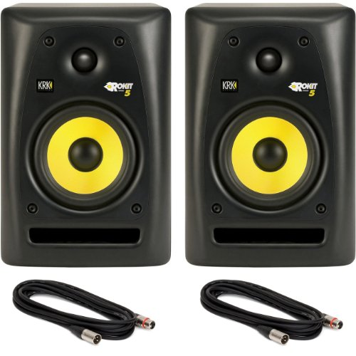 Pair of KRK Rokit 5 Studio Monitor Speakers