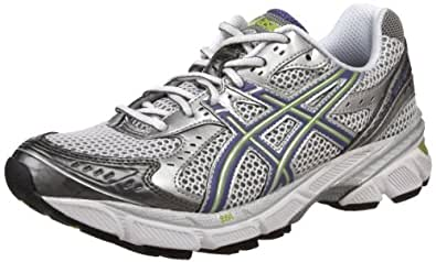 ASICS Women's GEL-1160 Running Shoe,White/Grape/Lime,11.5 M US