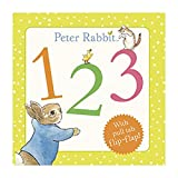 Beatrix Potter Peter Rabbit 123 Book With Pull tab flip-flap