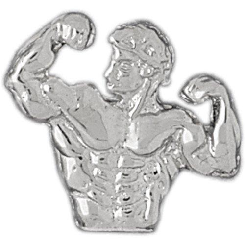 CleverSilver's Sterling Silver Pendant Bodybuilding
