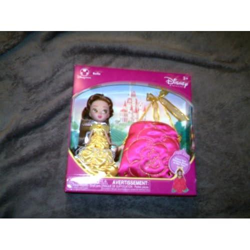 Disney Princess Pocket Belle Doll with Purse