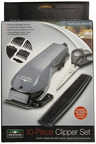 Meridian Point Cs-12/2130 Electric Clipper Set For Men And Women