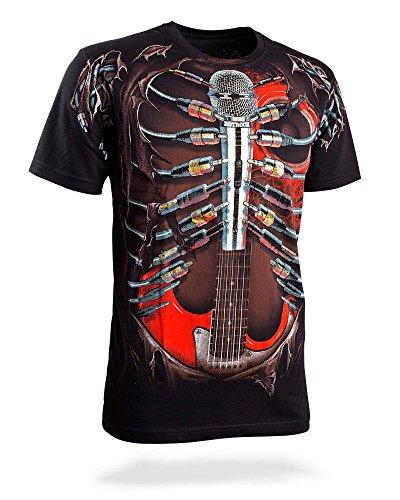 T-Shirt-Hotrock-Schnes-Geschenk-fr-Musiker