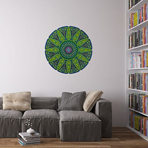 geometric-sunshine-mandala-wall-art-wandaufkleber