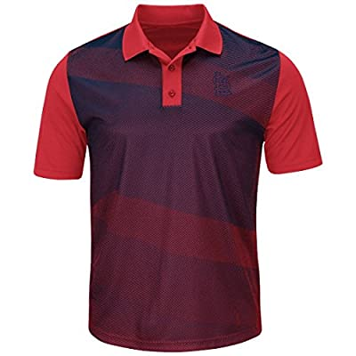 Majestic MLB 'Late Night Prize' Men's Polo