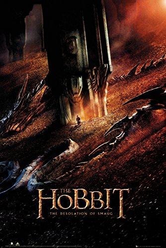 GB eye Ltd - Poster grande The Hobbit Desolation of Smaug Dragon, multicolore