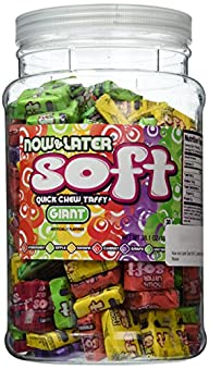 Now and Later Giant Soft Chewy Taffy…