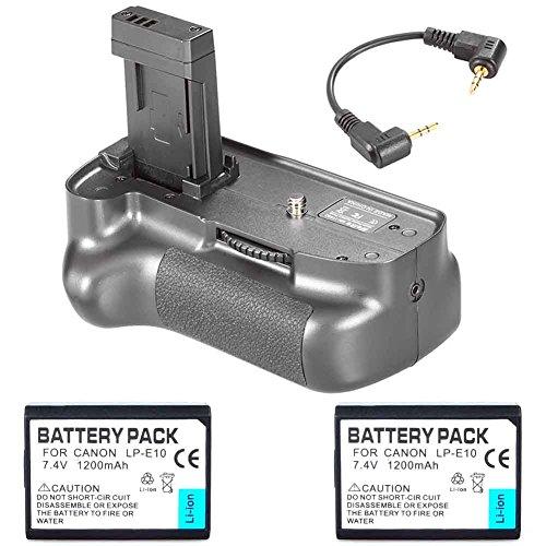neewerr-impugnatura-portabatteria-verticale-con-2-batterie-lp-e10-di-ricambio-per-canon-eos-1100d-12