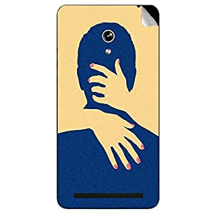 Theskinmantra Couple Kissing Asus Zenfone 6 mobile skin