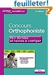 Concours Orthophoniste - 160 dict�es...