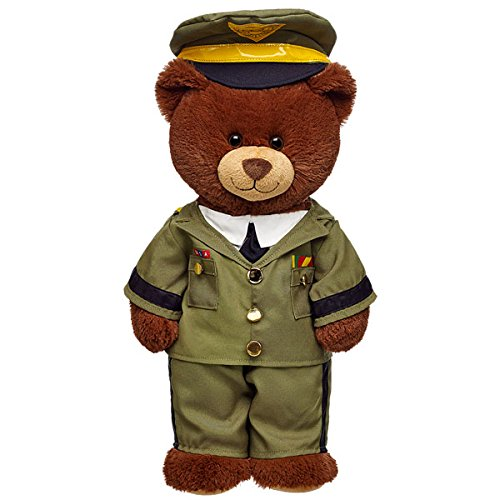 Build-a-Bear Workshop Teddy Bear Green Military Uniform 3 pc. (Build A Bear Army compare prices)